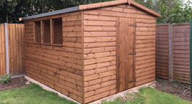 Sheds and garden buildings